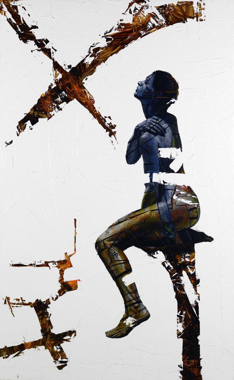 adrian leverkuhn, painting, Excitation - Inhibition
